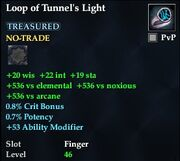 Loop of Tunnel's Light