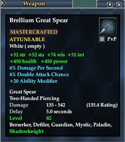 Brellium Great Spear