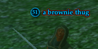 A brownie thug