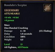 Bonduhr's Sceptre