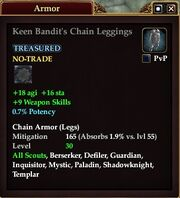 Keen Bandit's Chain Leggings