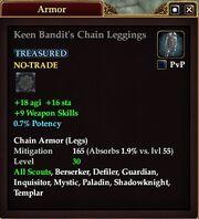 Keen Bandit's Chain Leggings