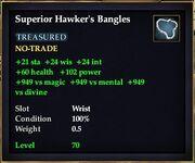 Superior Hawker's Bangles