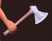 Tempered Axe (Equipped)