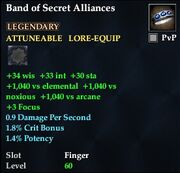 Band of Secret Alliances