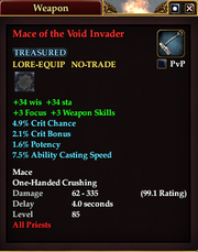 Mace of the Void Invader