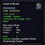 Armet of the Fae