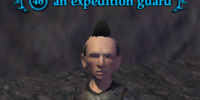 An expedition guard