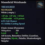Moonfield Wristbands