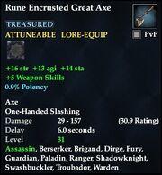 Rune Encrusted Great Axe
