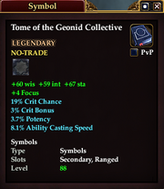 Tome of the Geonid Collective