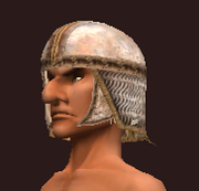 Magma linked chainmail coif (Equipped)