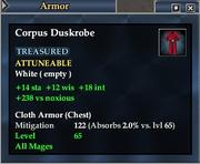 Corpus Duskrobe