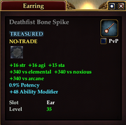 Deathfist Bone Spike