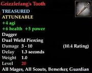 Grizzlefang's Tooth