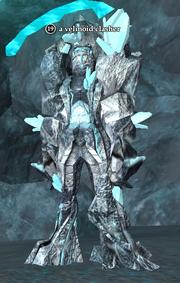 A velinoid clasher