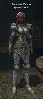 Lieutenant Delsun