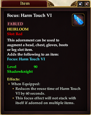 Harm Touch Adornment