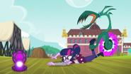 Monstrous vine drags Twilight by her ankle EG3