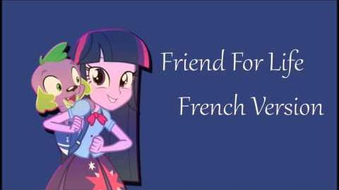 A Friend for Life - French (Audio)