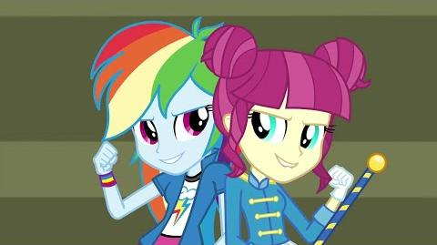 Czech CHS Rally Song - MLP Equestria Girls Friendship Games (Hry Přátelství)