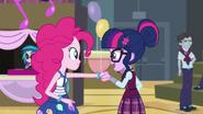 Human Twilight meets Pinkie Pie EG3