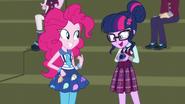 Twilight explains her device to Pinkie EG3