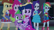 Twilight and Spike big gasp EG