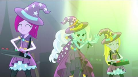 Czech Equestria Girls Rainbow Rocks Tricks Up My Sleeve HD