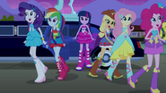 Twilight and friends arrive at the party EG