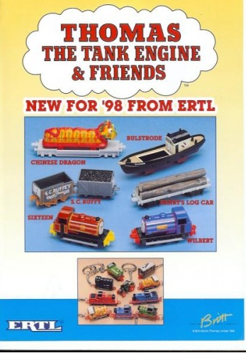 Thomas The Tank Engine And Friends Line Ertl Wiki