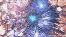 Fang y Vanille en el núcleo del pilar de cristal