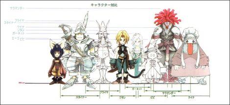Arte Conceptual de los personajes de FFIX.JPG