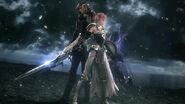 FFXIII-2 Lightning vs hombre