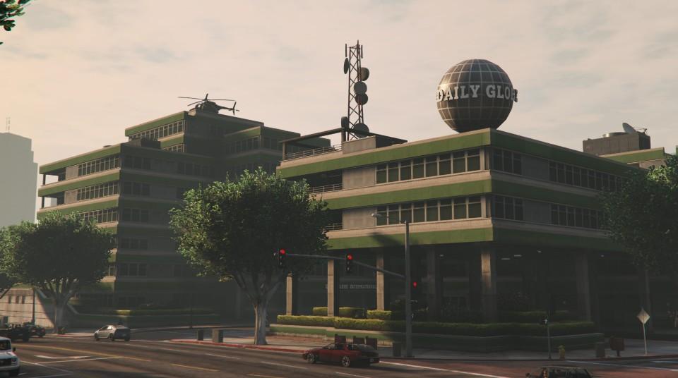 Daily Globe   Grand Theft Encyclopedia   FANDOM powered by ... Grand Theft Auto V Logo