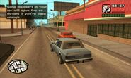 GTA San Andreas Beta Mission Drive Thru