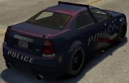 Police Stinger detrás TBOGT