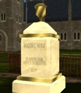 R.C Hole lápida