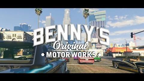 GTA Online Lowriders - Benny's Original Motor Works