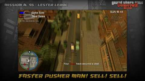 Faster Pusher Man! Sell! Sell!