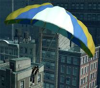 Luis con un paracaídas.jpg