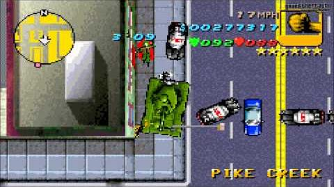 """Grand Theft Auto Advance - Misión 41 """"Vuelo libre"""""""