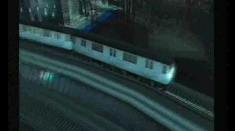 Grand Theft Auto Liberty City Stories (GTA LCS) Portland El-Train