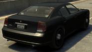 FIB Buffalo detrás GTA IV