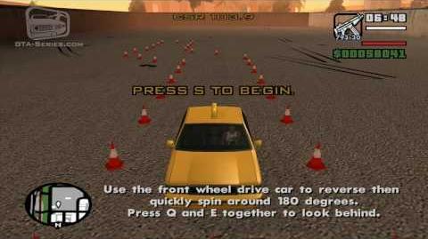 Autoescuela de coches - Gira y sigue