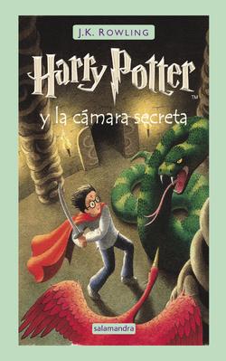 Harry Potter y la Camara Secreta Portada Español.PNG
