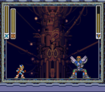 Neo Sigma vs. Mega Man X, Base de los X-Hunters.