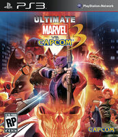 Ultimate MvC3 cover