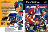 Megaman X Command Mission Dvd Spanish custom--cdcovers cc--front