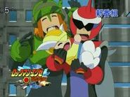 ProtoMan.EXE and Searchman.EXE with Trill